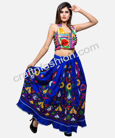 Kutch Embroidered Navratri Skirt