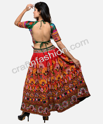 Indian Traditional Kuchi  With Tassel Dress