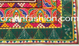Kutchi Work Multicolored Embroidered Lace