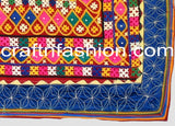 Hand Embroidered Mirror Work Kutch Border