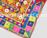 Kutch Embroidery Border With Mirror Work