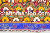 Indian Traditional Embroidered Kutch Border