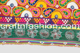 Traditional Multi Colored Kutch Embroidery Lace