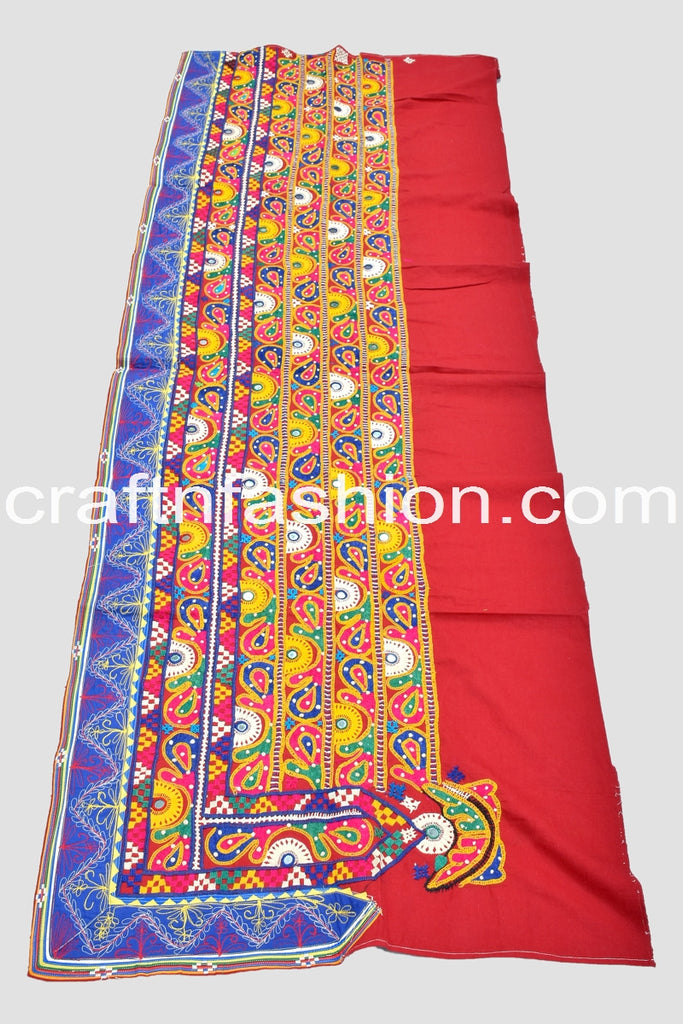 Traditional Kutch Mirror Work Lace