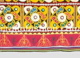 Rabari Embroidery Mirror Work Border Lace