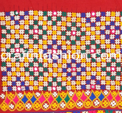 Kutch Hand Work Cotton Border Lace