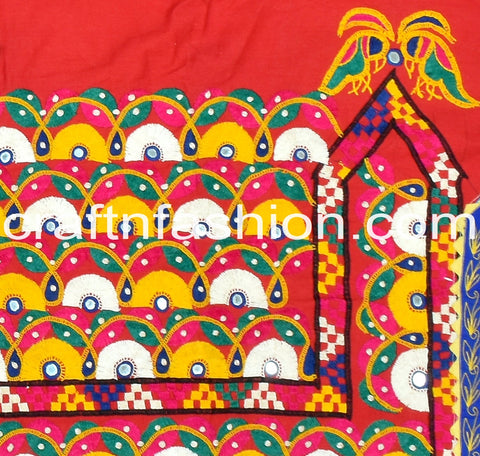 Hand Embroidery Kutch Border Lace
