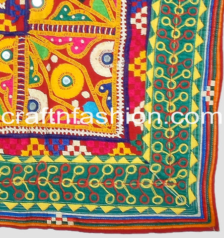 Indian Handmade Kutch Embroidery Lace