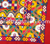 Ethnic Traditional Kutch Embroidery Border