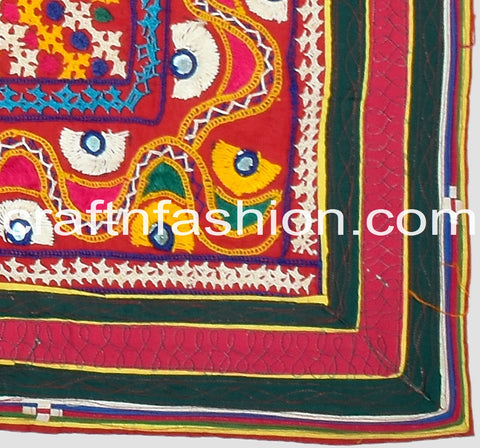 Designer Indian Kutch Embroidery Border Lace
