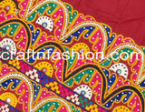 Traditional Kutch Mirror Work Border Lace