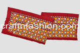 Multi Colored Embroidered Border Lace