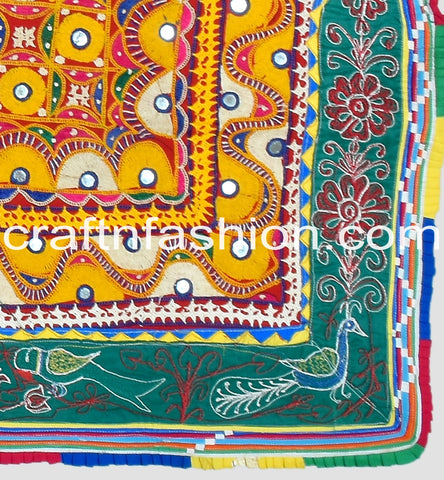 Multi Colored Handmade Kutch Border Lace