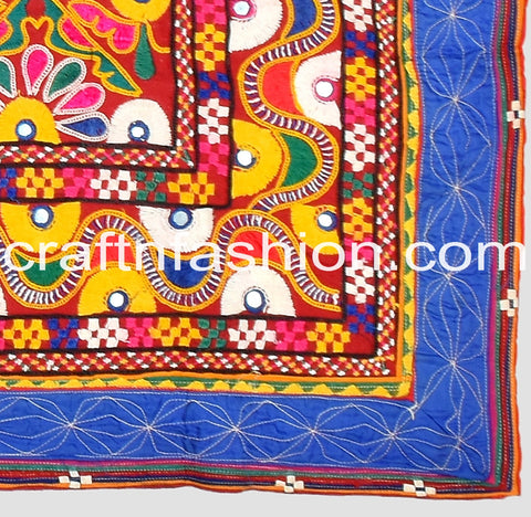 Kutch Embroidery Mirror Work Lace