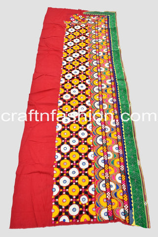 Traditional Kutch Embroidery Border Lace