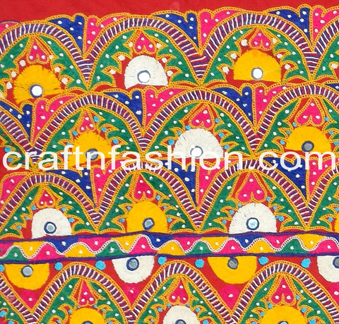 Handmade Traditional Kutch Work Border Lace