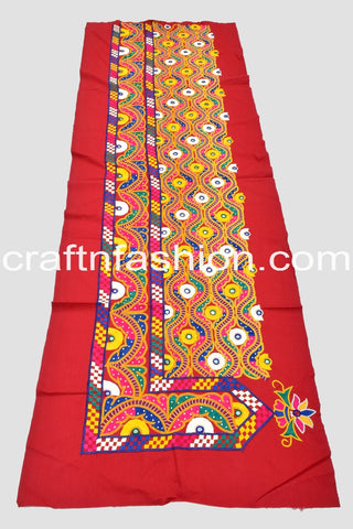 Kutch Hand Work Lace With Mirror Work