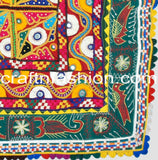 Kutch Mirror Work Border Lace