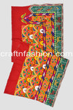 Traditional Kutchi Work Border Lace