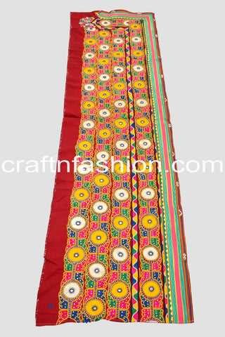 Traditional Kutch Work Border Lace