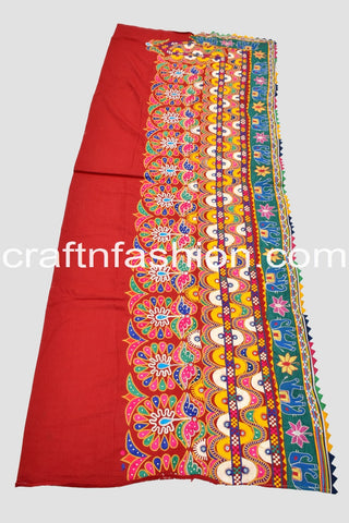 Gujarati Hand Embroidered Border Lace