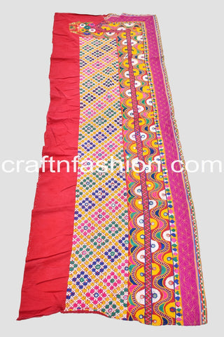Vintage Traditional Kutchi Border Lace