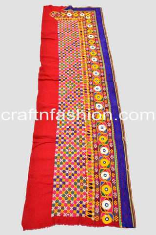 Indian Traditional Kutch Work Border Lace
