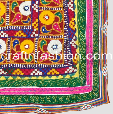 Traditional Kutch Embroidery Lace