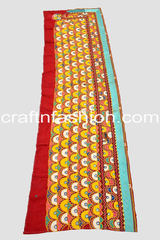 Kutch Embroidery Mirror Work Lace Border