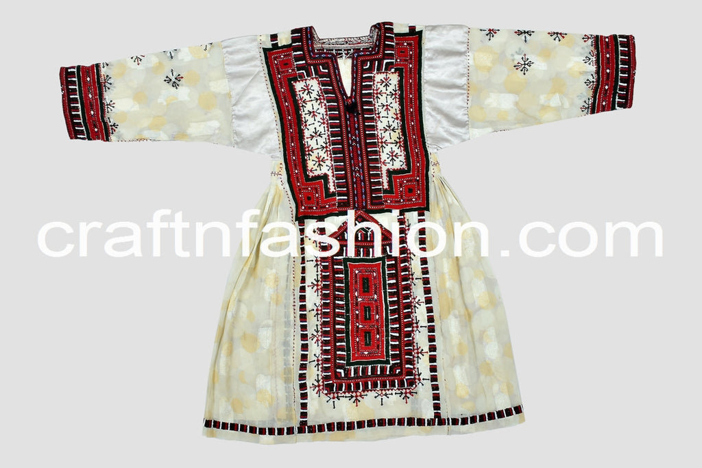Women's Traditional Handmade Kuchi Dress