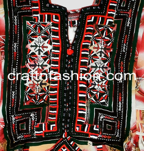Printed Traditional Kuchi Culture Kurta