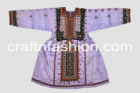 Handmade Embroidered Kuchi Tunic