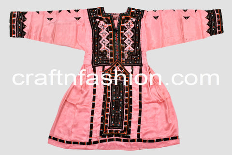 Hand Embroidered Vintage Fashion Kuchi Dress