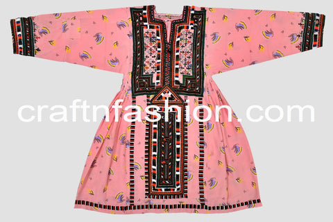 Women's Vintage Fashion Wear Kuchi Dress