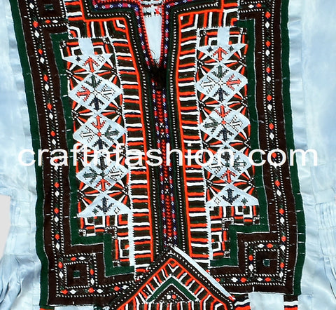 Women's Traditional Ethnic Kuchi Dress
