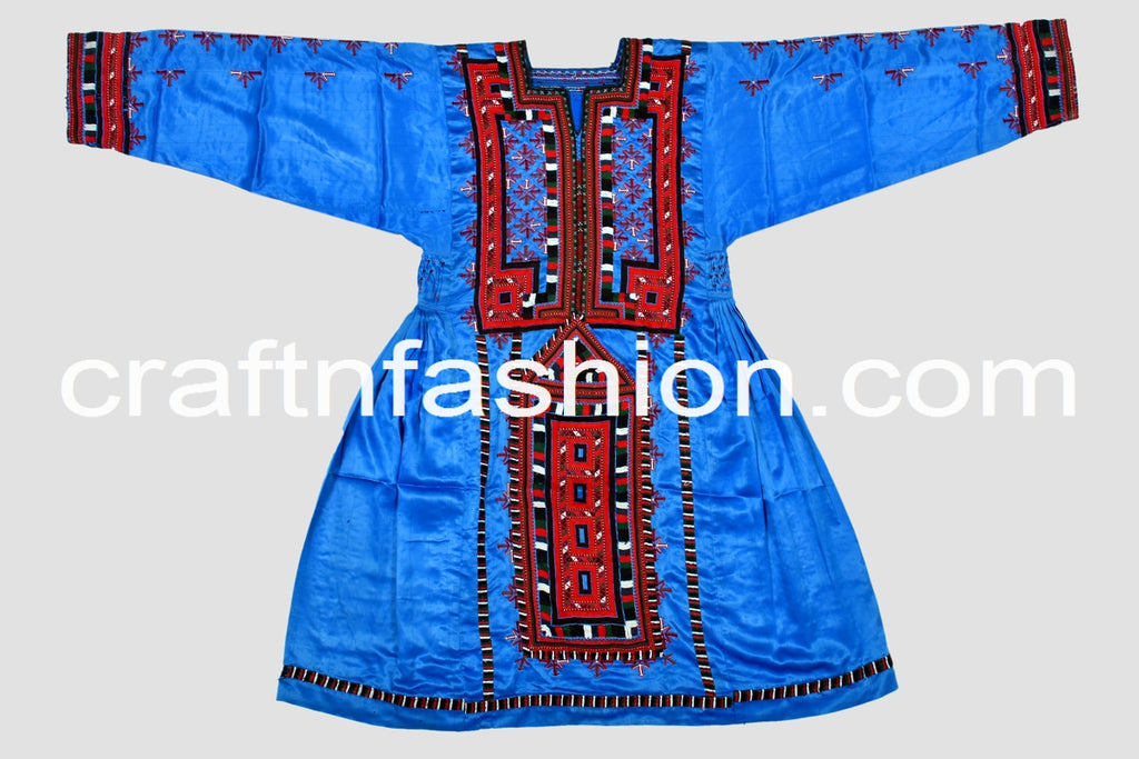 Gypsy Tribal Fusion Festive Wear Frock