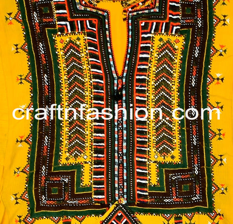 Traditional Ethnic Women's Kuchi Dress