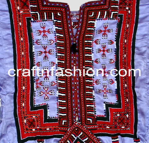Ethnic Kuchi Hippie Traditional Frock