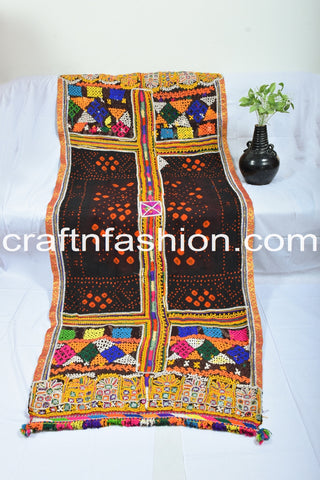 Designer Rabari Dhabli With Kutch Embroidery
