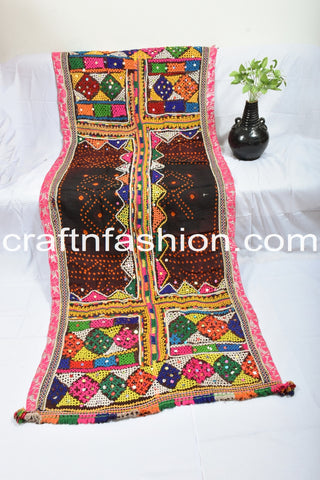 Indian Hand-Woven Shawl from Kutch