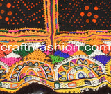 Pure Woolen Shawl With Kutch Embroidery & Mirror Work