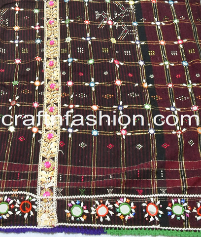 Kutch Handcrafted Original Woolen Shawl