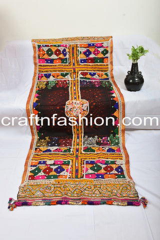 Rabari Embroidered Original Woolen Shawl
