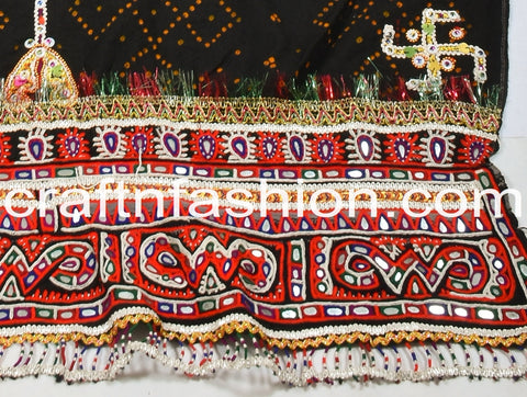 Indian Vintage Rabari Embroidered Dhabdi