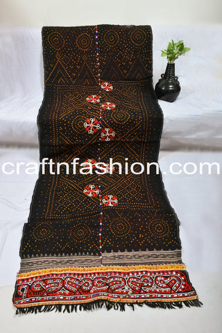 Indian Ethnic Kutch Handcrafted Shawl/Tapestry