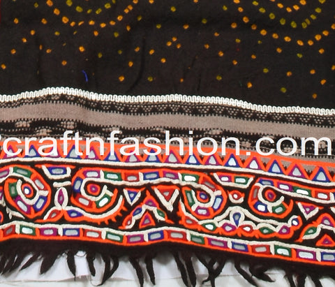 Handmade Traditional Embroidered Rabari Dhabdi