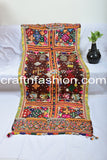 Vintage Traditional Kutch Handcrafted Women's Shawl