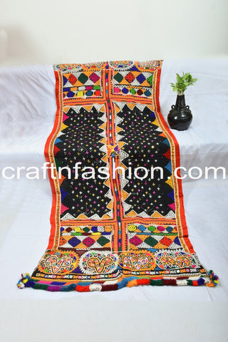 Hand Embroidered Indian Traditional Shawl