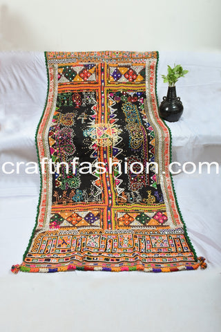 Beautiful Kutch Handcrafted Multi Colored Shawl