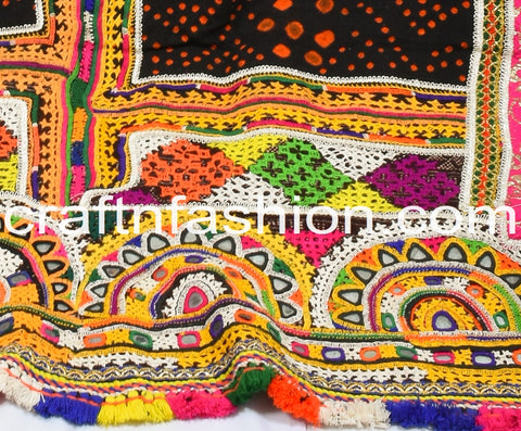 Indian Hand Woven Original Woolen Shawl/Dhabdi